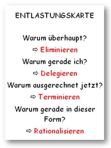 Entlastungskarte (c) Sylvia Nickel | 2nc.de