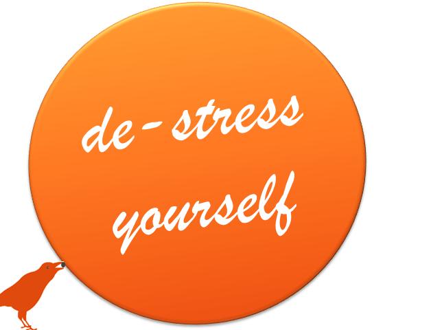 de-stress yourself (c) Sylvia Nickel | karrierenachmass.de