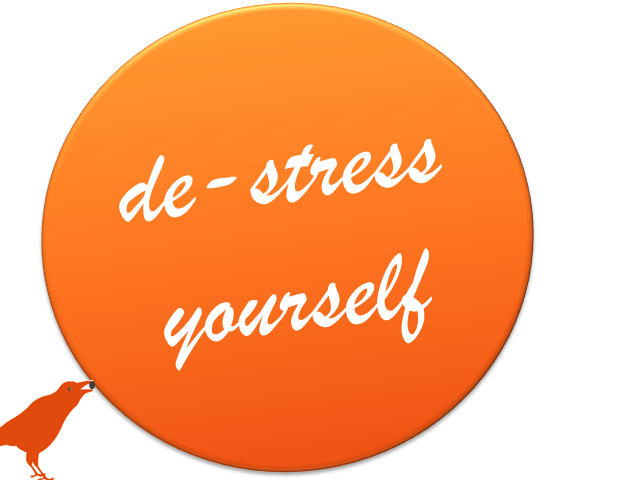 de-stress yourself (c) Sylvia Nickel | karrierenachmass.de