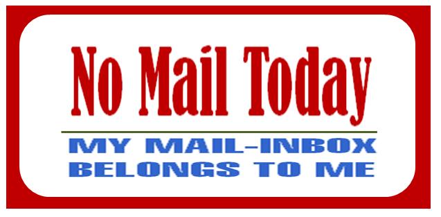No Mail Today (c) Sylvia Nickel | karrierenachmass.de