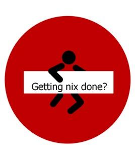 Getting nix done © Sylvia Nickel