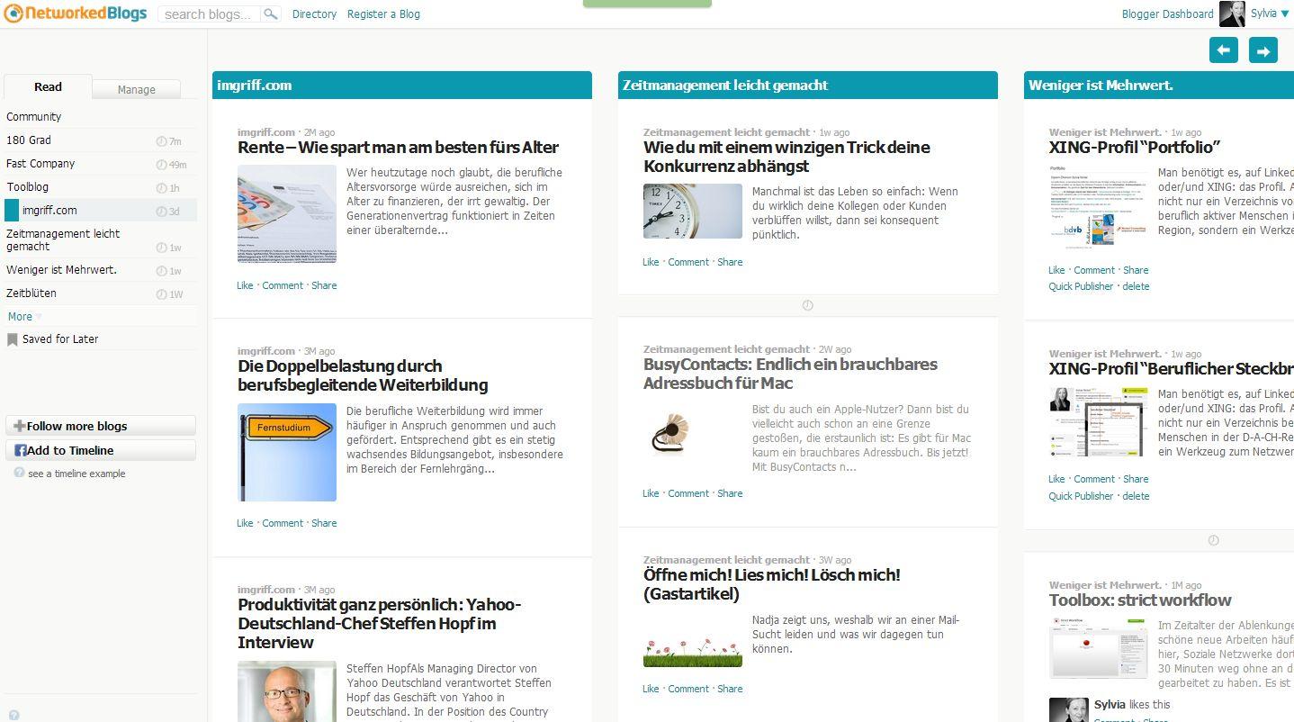 NetworkedBlogs (c) Sylvia Nickel | 2nc.de