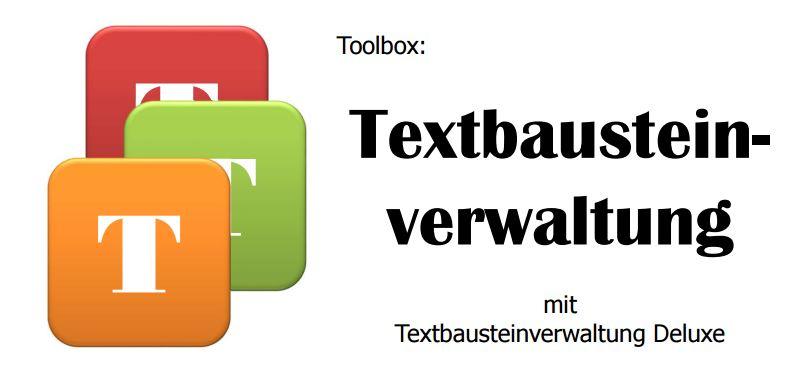 Textbausteinverwaltung Deluxe (c) Sylvia Nickel